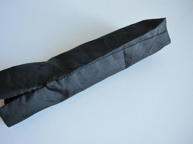 綺麗め 軽量 折り畳み傘 アンブレラ ケースのみ 上品 傘 雨傘 シンプルブラック ユニセックス レア 得 特_画像9