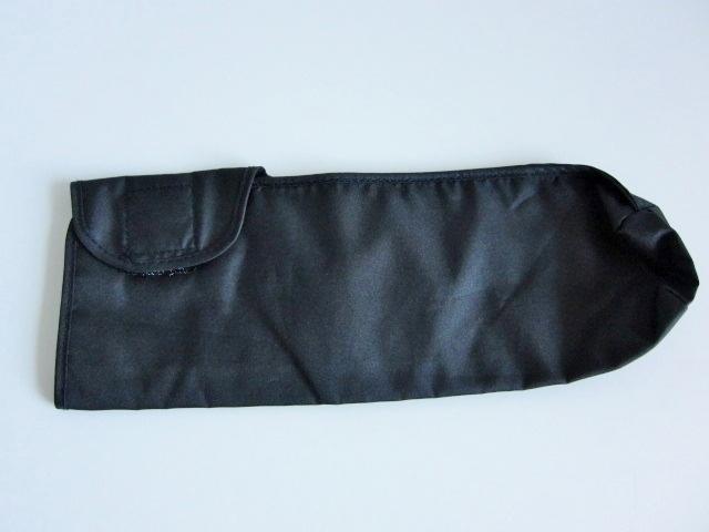新品 軽量 折り畳み傘 アンブレラ ケースのみ 上品 傘 雨傘 ブラック しっかり目 マジックテープ式 開閉 レア 得 特_画像5