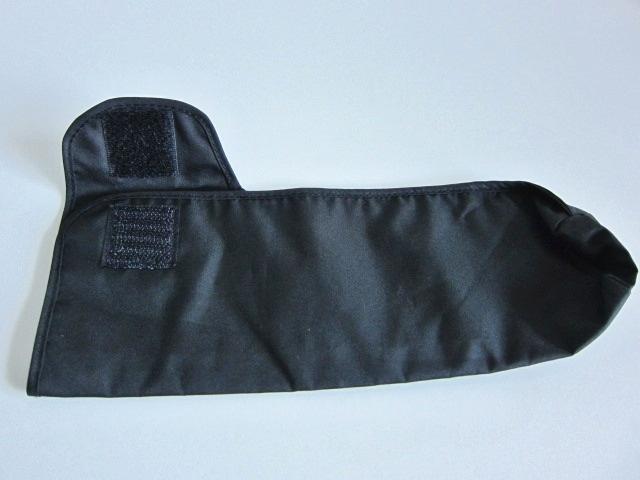 新品 軽量 折り畳み傘 アンブレラ ケースのみ 上品 傘 雨傘 ブラック しっかり目 マジックテープ式 開閉 レア 得 特_画像4