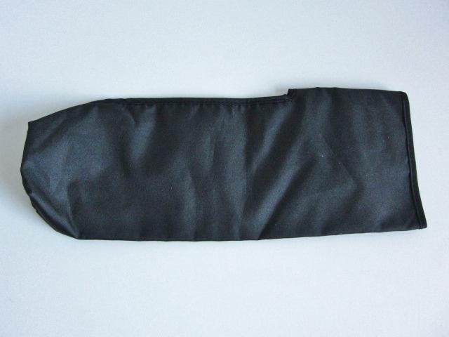 新品 軽量 折り畳み傘 アンブレラ ケースのみ 上品 傘 雨傘 ブラック しっかり目 マジックテープ式 開閉 レア 得 特_画像6