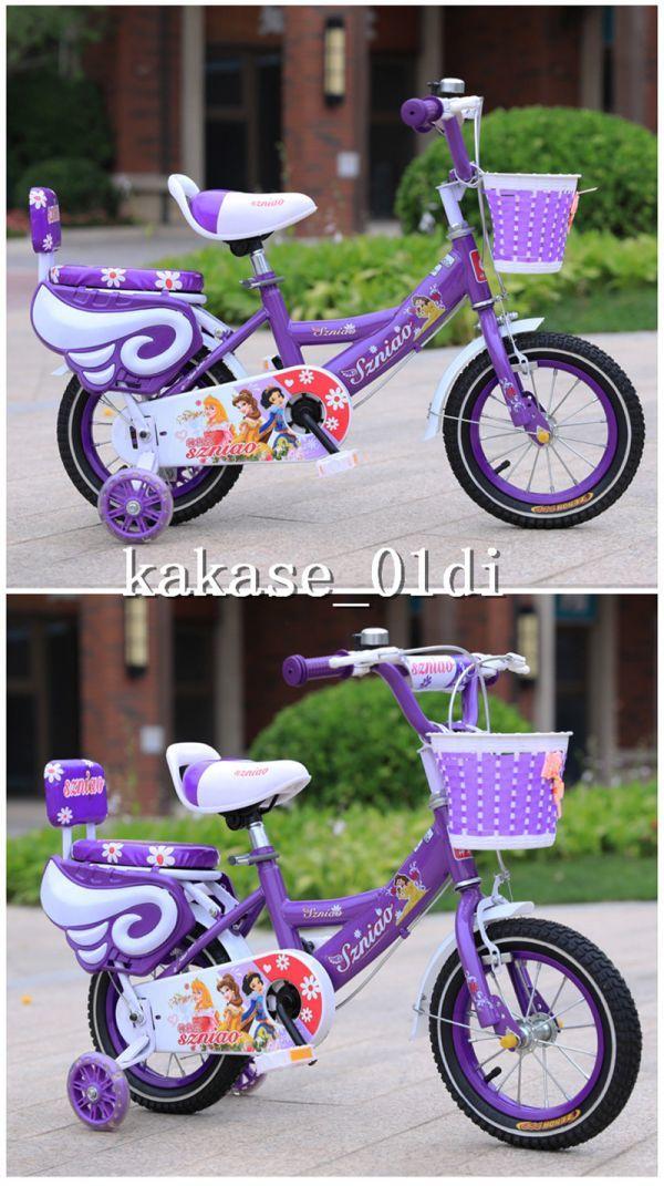 プレゼント 子供用自転車 補助輪付き 知育玩具 組み立て式 12-18インチ 2-8歳 サイズ選択可 11_画像5