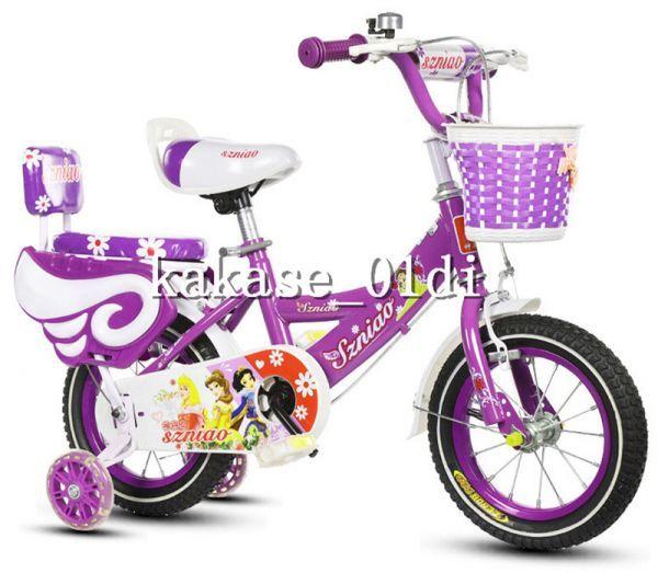 プレゼント 子供用自転車 補助輪付き 知育玩具 組み立て式 12-18インチ 2-8歳 サイズ選択可 11