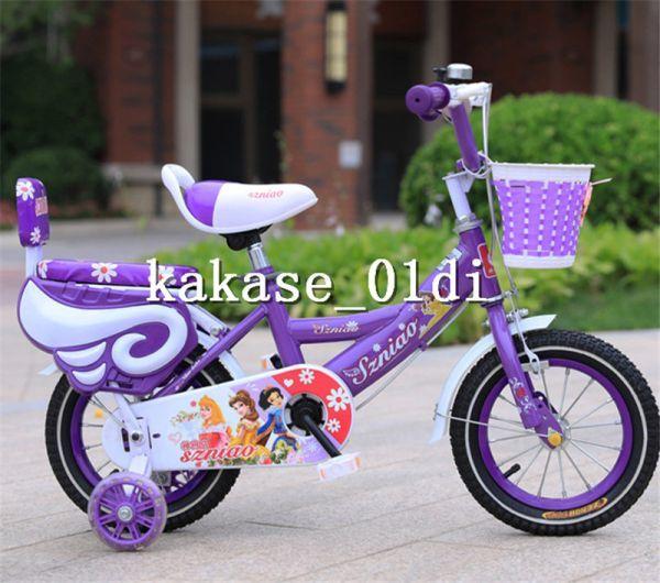 プレゼント 子供用自転車 補助輪付き 知育玩具 組み立て式 12-18インチ 2-8歳 サイズ選択可 11_画像3