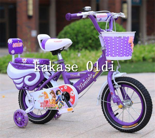 プレゼント 子供用自転車 補助輪付き 知育玩具 組み立て式 12-18インチ 2-8歳 サイズ選択可 11_画像4