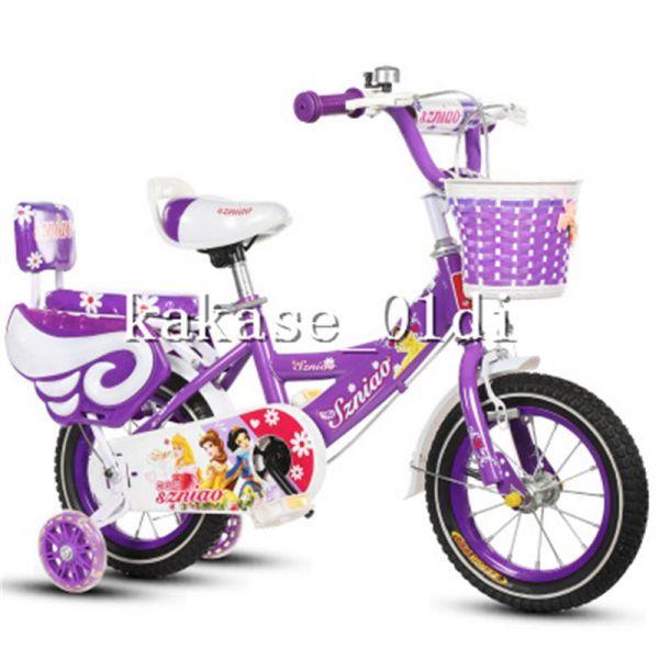 プレゼント 子供用自転車 補助輪付き 知育玩具 組み立て式 12-18インチ 2-8歳 サイズ選択可 11_画像2