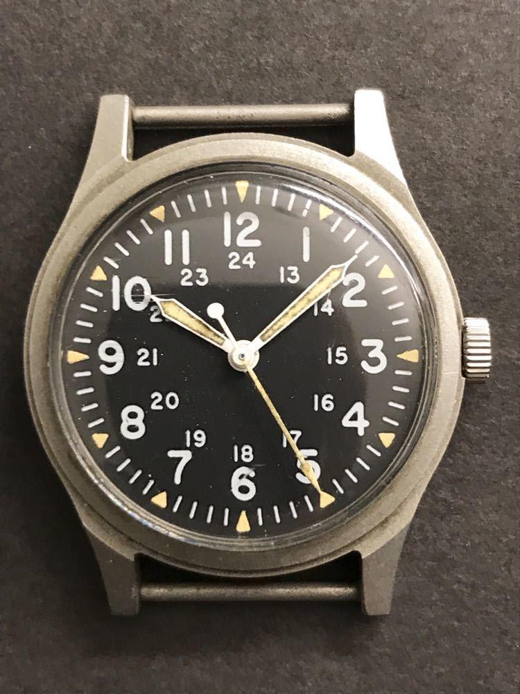 ビンテージ米軍ミリタリーウオッチ Vintage Military Wrist Watch GG-W-113 1978年_画像4