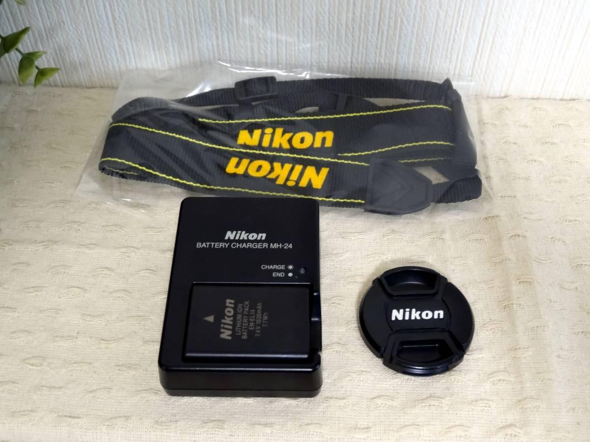 【ショット数少】Nikon D5100 AF-S DX NIKKOR 18-55mm VR レンズキット_画像6