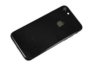 【美品・1円スタート】SIMフリー iPhone 7 ジェットブラック 128GB Apple 付属品すべて新品【iOS 12.4】
