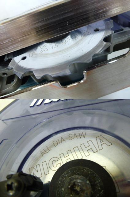 7726 良品 makita マキタ 125mm 防じん マルノコ KS5000FX 刃付き 丸のこ 防塵 電動工具_画像10