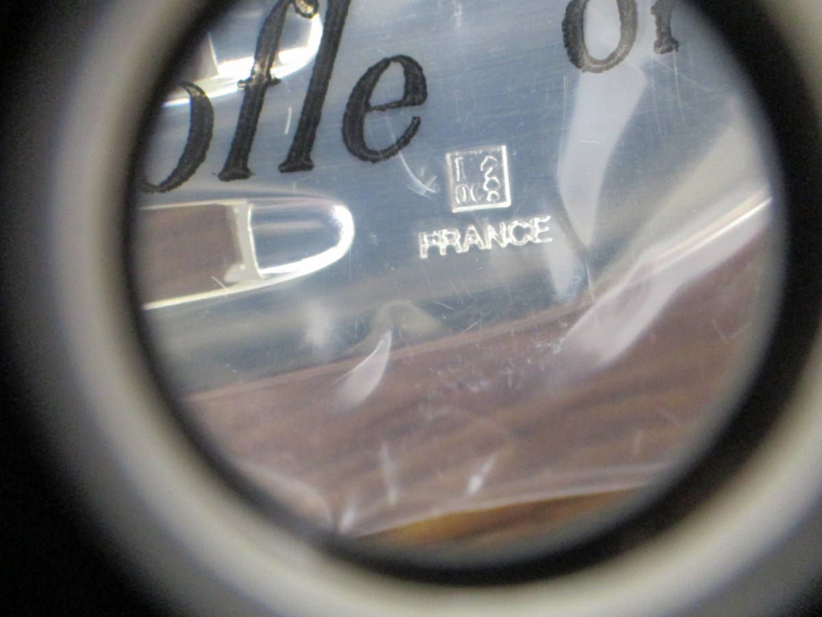 【3747】未使用 Christofle クリストフル パール カトラリーセット スプーン フォーク ナイフ 5種30点_画像6