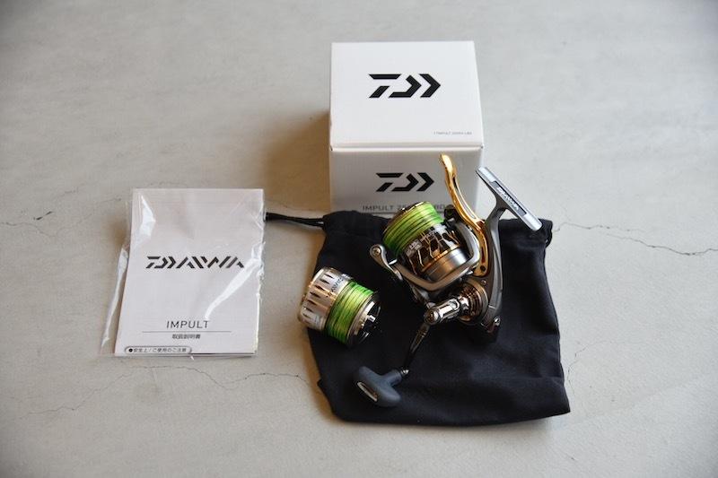 ダイワ 17インパルト 2500HーLBD 3000スプール付き (DAIWA トーナメント 磯 がまかつ )