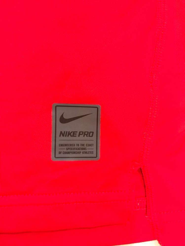 アイスホッケー 日本代表 支給品 NIKE コンプレッション 赤 Sサイズ_画像4
