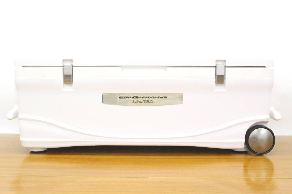<クーラーボックス>シマノ スペーザホエール リミテッド 600 HC-060I (アイスホワイト) 【中古】