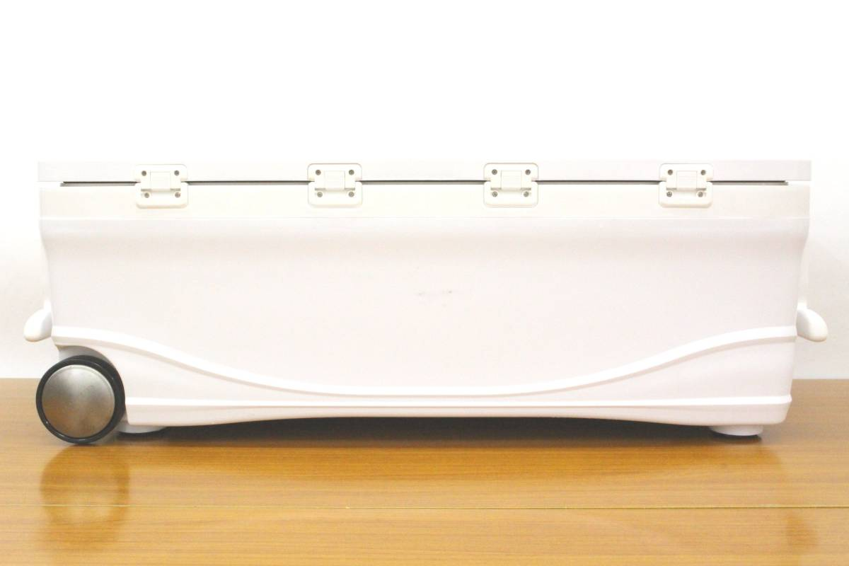 <クーラーボックス>シマノ スペーザホエール リミテッド 600 HC-060I (アイスホワイト) 【中古】 _画像2
