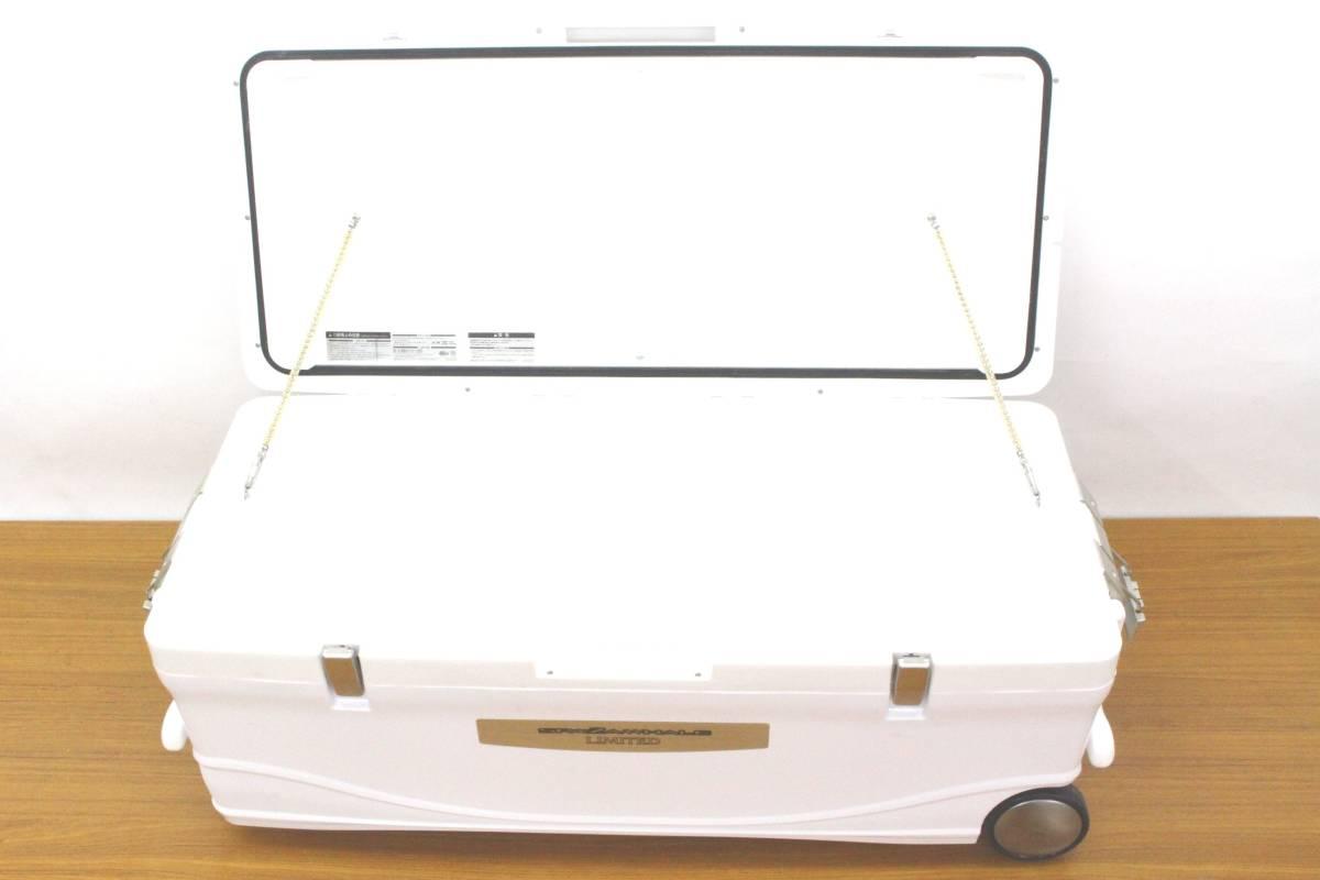 <クーラーボックス>シマノ スペーザホエール リミテッド 600 HC-060I (アイスホワイト) 【中古】 _画像5