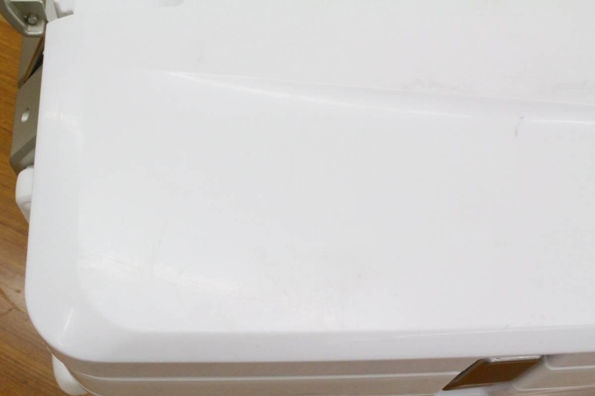 <クーラーボックス>シマノ スペーザホエール リミテッド 600 HC-060I (アイスホワイト) 【中古】 _画像7