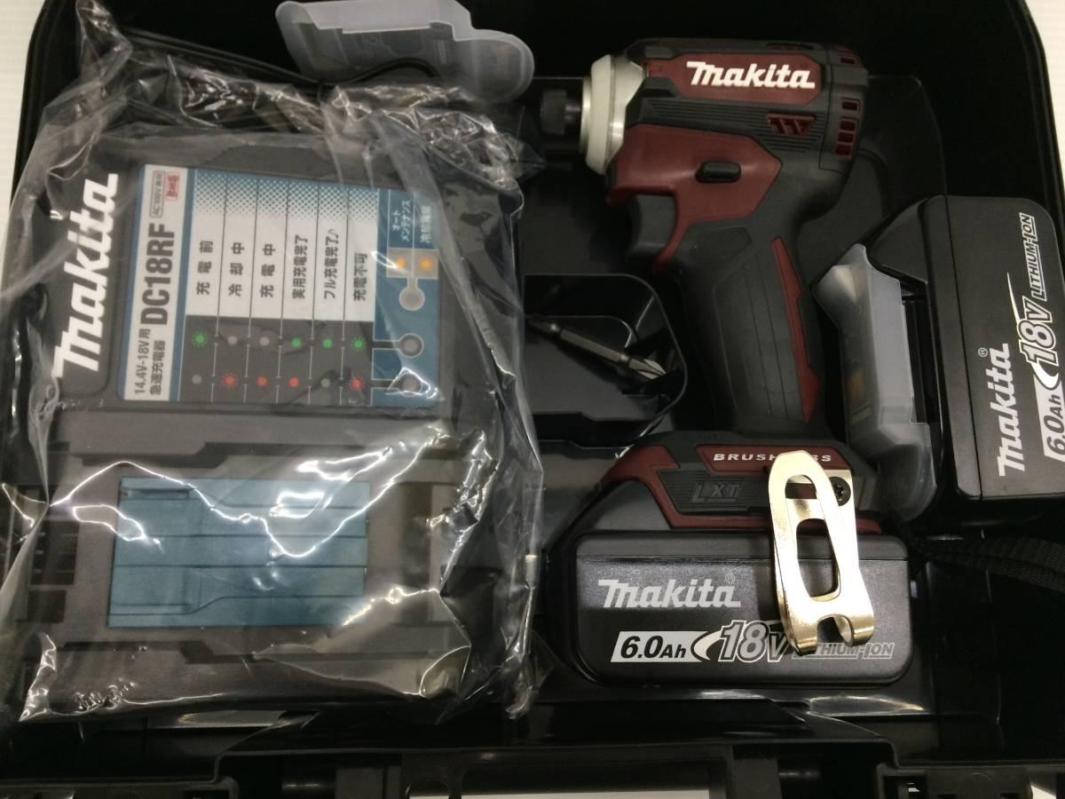 マキタ Makita 充電式インパクトドライバ レッド 18V 6Ah TD171DGXAR 未使用品 sykogu018039_画像2