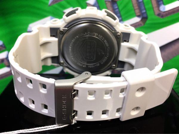 新品 CASIO カシオ G-SHOCK Gショック 正規品 アナログ デジタル 腕時計 ホワイト パープル 白 紫 ウォッチ 時計_画像9