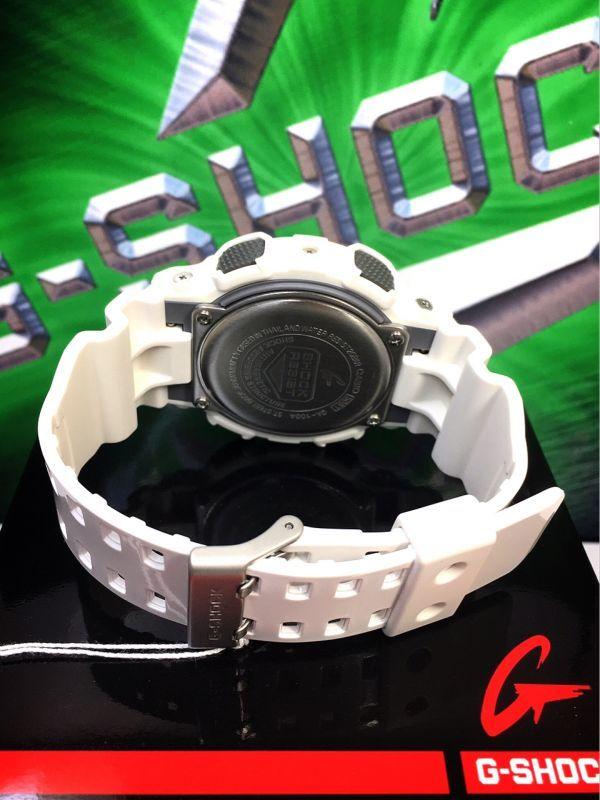 新品 CASIO カシオ G-SHOCK Gショック 正規品 アナログ デジタル 腕時計 ホワイト パープル 白 紫 ウォッチ 時計_画像8