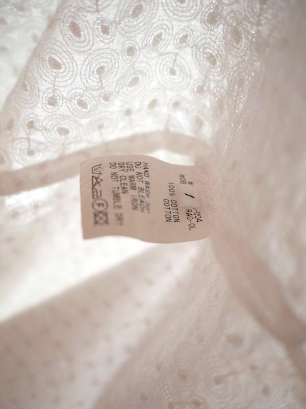 B-Shop 総刺繍ブラウス ホワイト_画像5