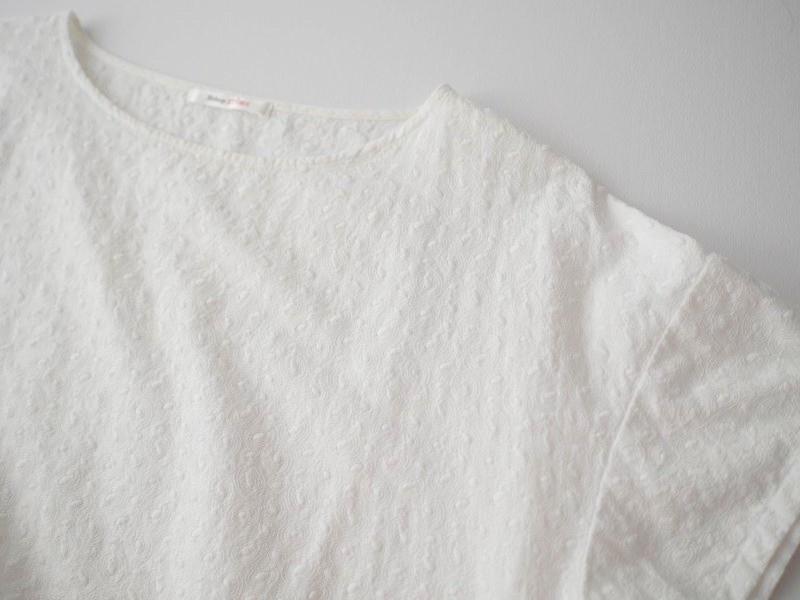 B-Shop 総刺繍ブラウス ホワイト_画像4