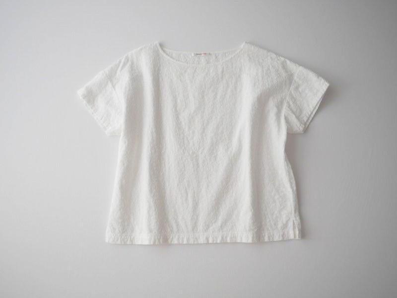 B-Shop 総刺繍ブラウス ホワイト_画像2