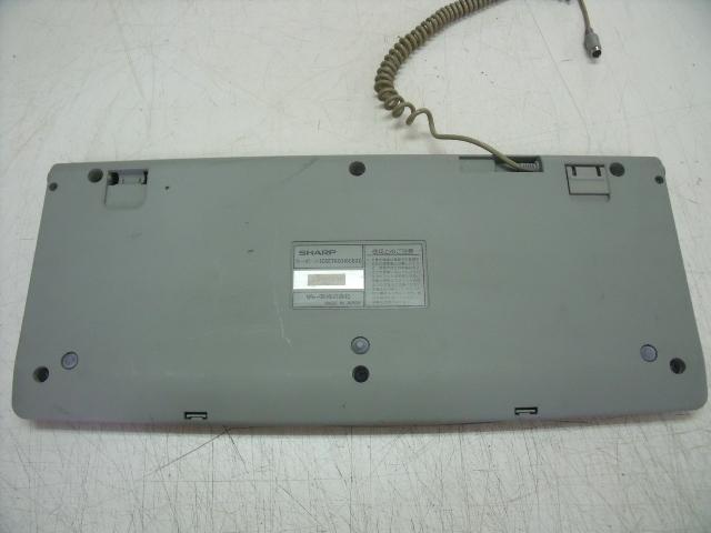 SHARP X68000用 キーボード ジャンク_画像5