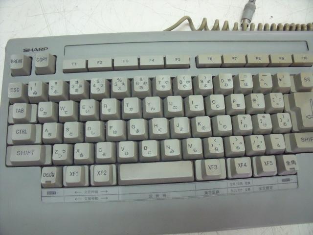 SHARP X68000用 キーボード ジャンク_画像3