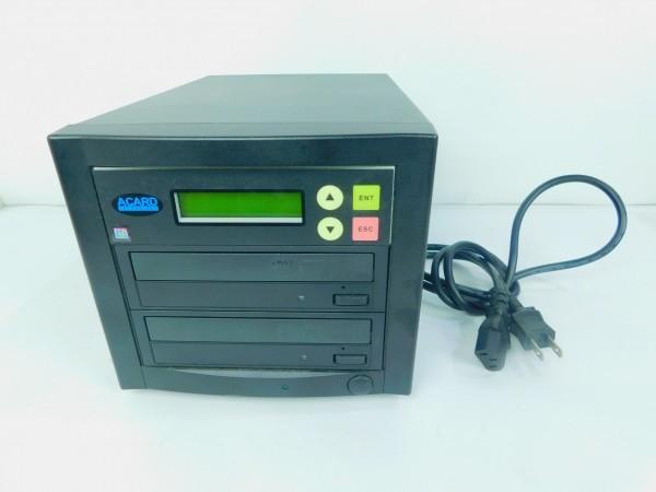 デュプリケーター ACARD TECNOLOGY DVD/CD duplicator バックアップ コピー 通電確認済 G