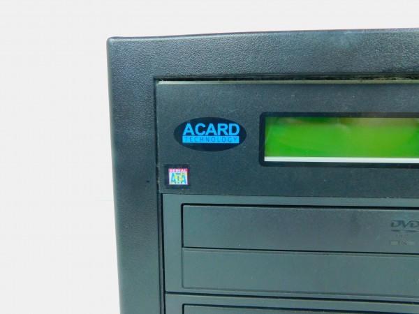 デュプリケーター ACARD TECNOLOGY DVD/CD duplicator バックアップ コピー 通電確認済 E_画像2