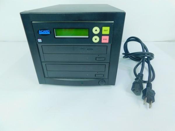 デュプリケーター ACARD TECNOLOGY DVD/CD duplicator バックアップ コピー 通電確認済 E