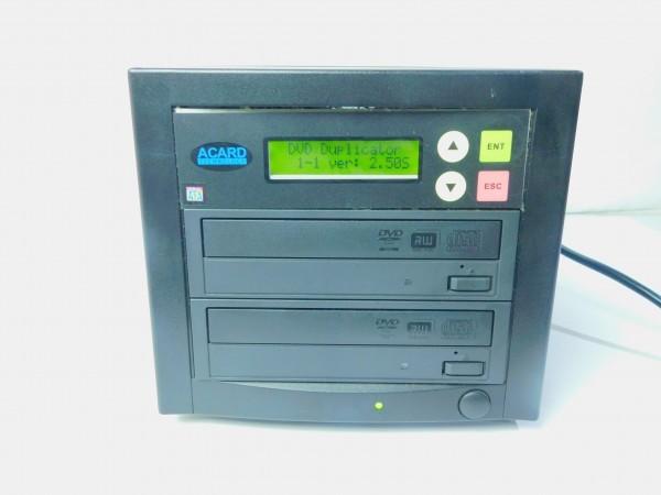 デュプリケーター ACARD TECNOLOGY DVD/CD duplicator バックアップ コピー 通電確認済 D_画像6