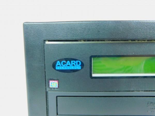デュプリケーター ACARD TECNOLOGY DVD/CD duplicator バックアップ コピー 通電確認済 D_画像2