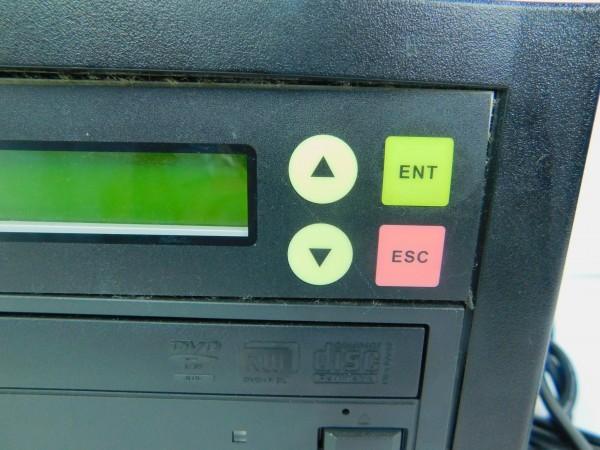 デュプリケーター ACARD TECNOLOGY DVD/CD duplicator バックアップ コピー 通電確認済 D_画像3