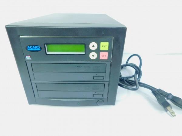 デュプリケーター ACARD TECNOLOGY DVD/CD duplicator バックアップ コピー 通電確認済 D