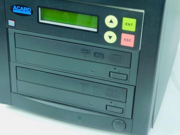 デュプリケーター ACARD TECNOLOGY DVD/CD duplicator バックアップ コピー 通電確認済 A_画像2