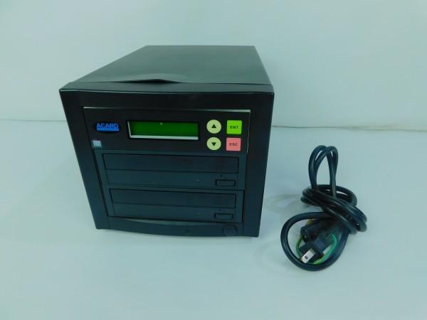デュプリケーター ACARD TECNOLOGY DVD/CD duplicator バックアップ コピー 通電確認済 A