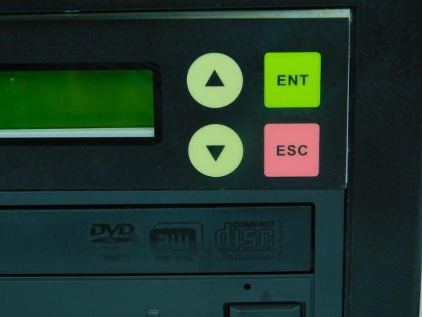デュプリケーター ACARD TECNOLOGY DVD/CD duplicator バックアップ コピー 通電確認済 A_画像3