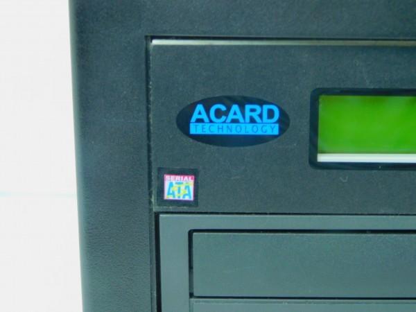 デュプリケーター ACARD TECNOLOGY DVD/CD duplicator バックアップ コピー 通電確認済 A_画像4