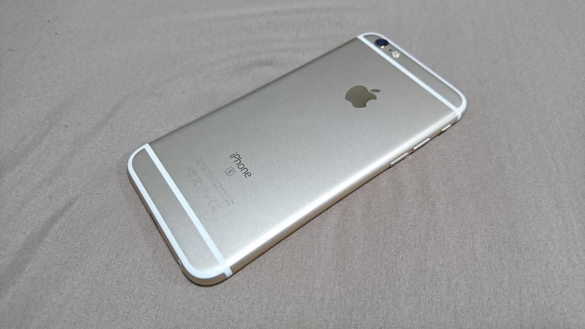 超美品 iPhone6s 64GB ゴールド ソフトバンク IMEI:35542707264467_画像2