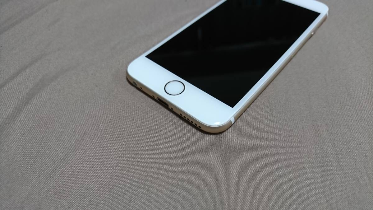 超美品 iPhone6s 64GB ゴールド ソフトバンク IMEI:35542707264467_画像3