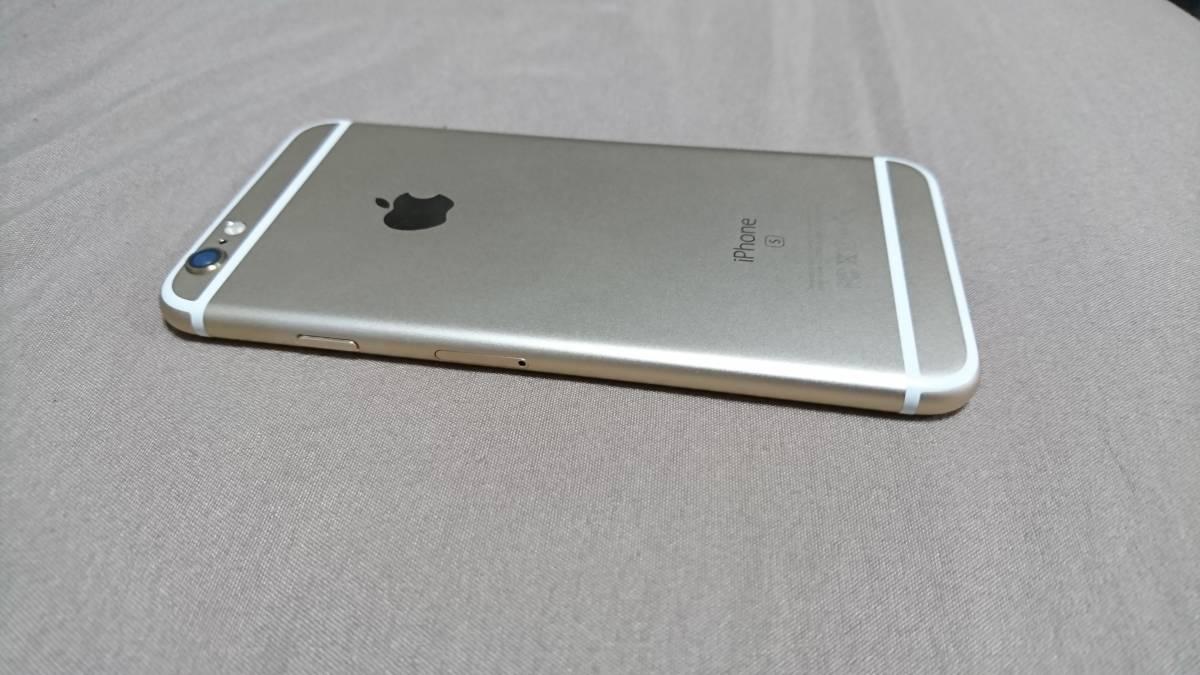 超美品 iPhone6s 64GB ゴールド ソフトバンク IMEI:35542707264467_画像7