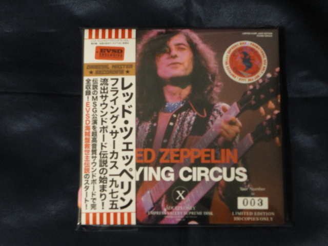 Empress Valley 3CD Led Zeppelin Flying Circus 紙ジャケ /【Buyee