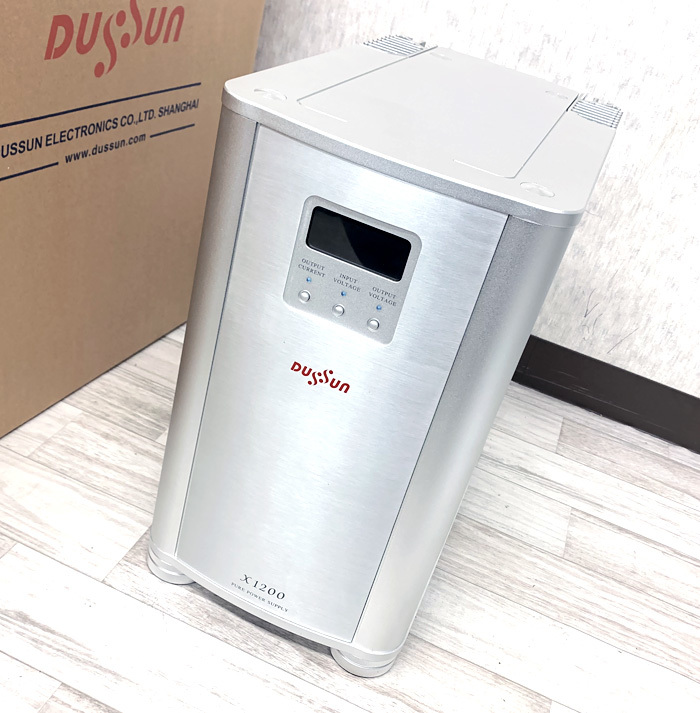 ●DUSSUN X-1200 クリーン電源 パワーサプライ ダッサン●_画像2