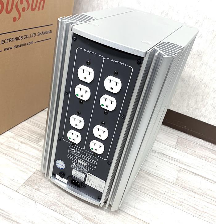 ●DUSSUN X-1200 クリーン電源 パワーサプライ ダッサン●_画像3
