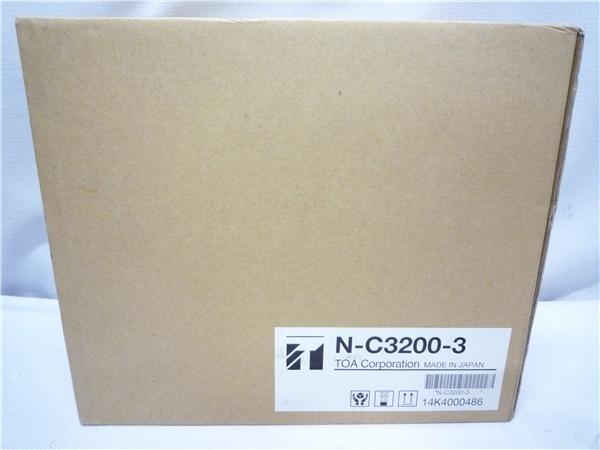 ■Db28 未使用品 TOA ドーム型フルHDネットワークカメラ N-C3220-3 214万画素 監視カメラ 防犯カメラ_画像7