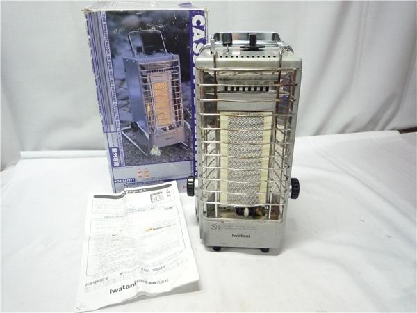 ■Ca33 Iwatani イワタニ CASSETTE HEATER カセットヒーター CB-8 箱付 屋外用 カセットガスストーブ アウトドア キャンプなどに 暖房器具