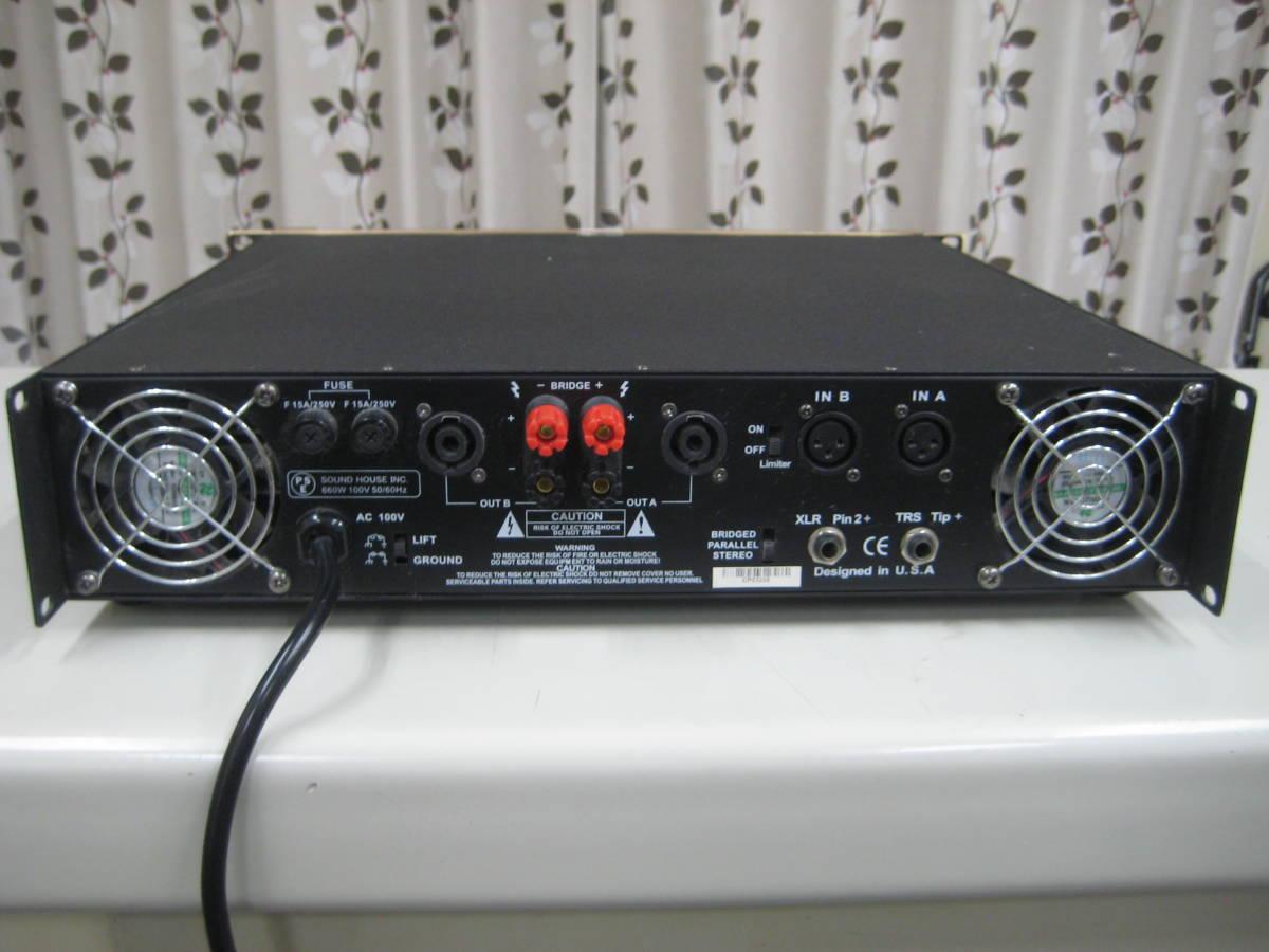 CLASSIC PRO ( クラシックプロ ) CP1400 ステレオ・パワーアンプ 動作OK_画像4
