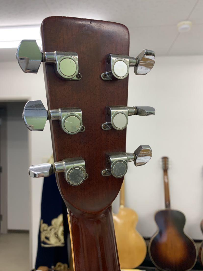 jagard 70s vintage D35 寺田楽器? ジャガード ビンテージ 古い 不明 ヴィンテージ マーチンタイプ 70年代製_画像9