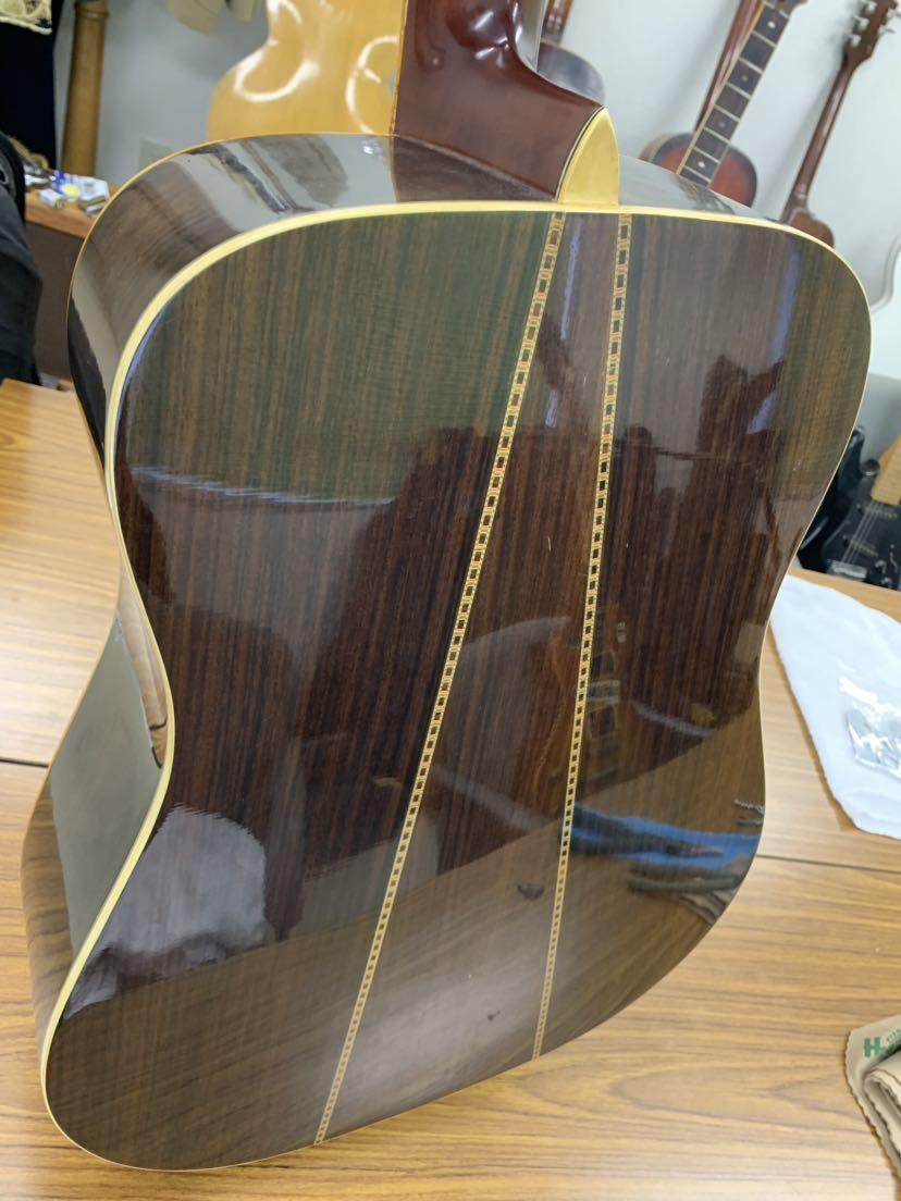 jagard 70s vintage D35 寺田楽器? ジャガード ビンテージ 古い 不明 ヴィンテージ マーチンタイプ 70年代製_画像8